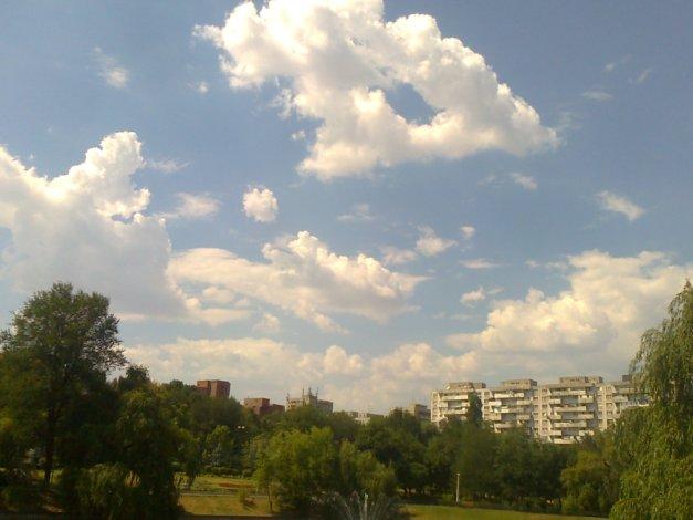 Ultima duminică din luna iulie. În parcul Morarilor.