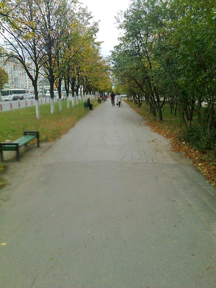 Toamnă în Chişinău (II).
