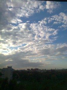 Cerul în dinamică. Toamna.