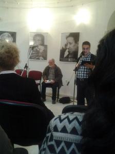 Maratonul de poezie și jazz; 17.05.2014; București; cafeneaua La Muzeu; MNLR; TNCP; fotografiile mele; diverse; poezie românească; publicat de Bot Eugen. 18.05.2014; 13:16