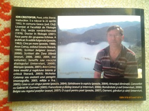 Ion Cristofor - Orchestra de jazz; volum de poezie; Editura Napoca Star; Cluj-Napoca; 2012; biblioteca proprie; poezie românească; fotografiile mele; publicat de Bot Eugen. 18.05.2014; 16:22