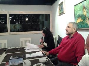 Serile Sinapsa (II); Organizatori : Florin și Diana Caragiu; partener media: fdl.ro & Victor Potra; Diana Caragiu; Braseria Alouete; str. Bibescu Vodă nr. 19; diverse; poezie românească; fotografiile mele; 06.12.2014; 18:30-20:30; publicat de Bot Eugen. 07.12.2014; 12:02; București; șoseaua Pantelimon 302; sectorul 2.